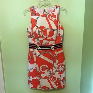 Lily Pulitzer Tango Orange Booze Cruise Dress